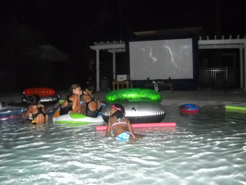 Dive In Movie Night At The Pool Patriots Landing