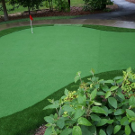 Our New Putting Green