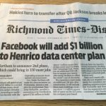 Facebook Corporate Expansion – right down the road!